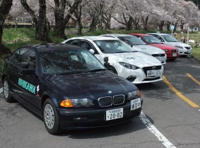 石川自動車教習所|人気のBMW車の教習!!